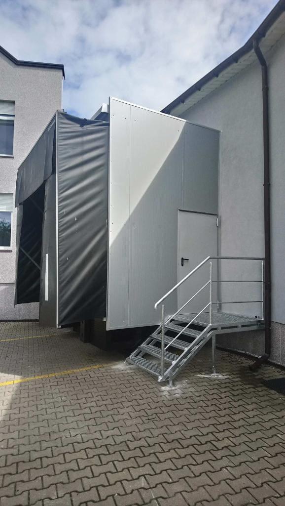 Domek przeładunkowy z bocznym wejściem - Opoczno