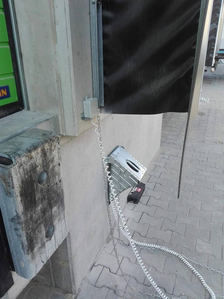 Klin blokujący 1 - Podjazd pod rampę – akcesoria