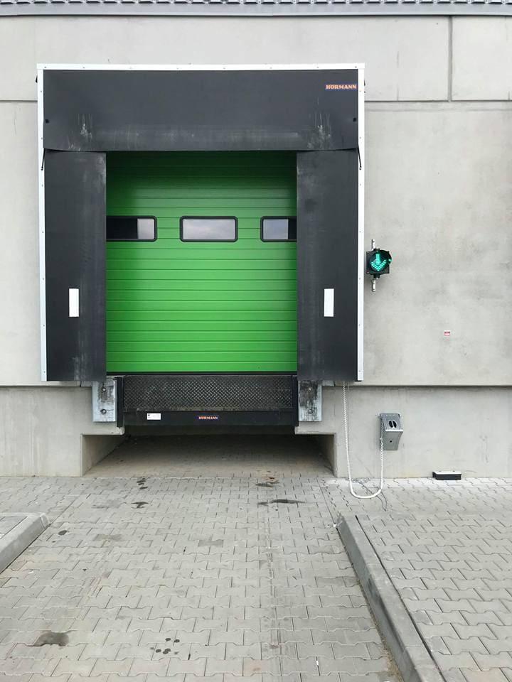 Stanowisko przeładunkowe - Podjazd pod rampę – akcesoria